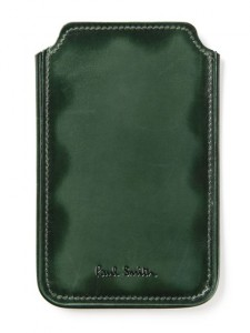 Green Leather iPhone Case