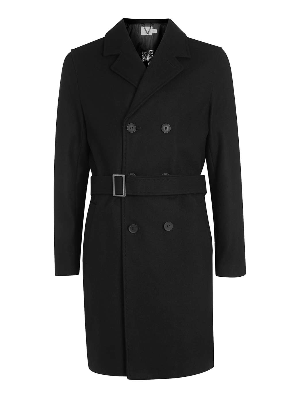 The Double Breasted Overcoat