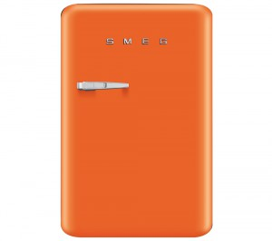SMEG FAB10RO Mini Fridge - Orange