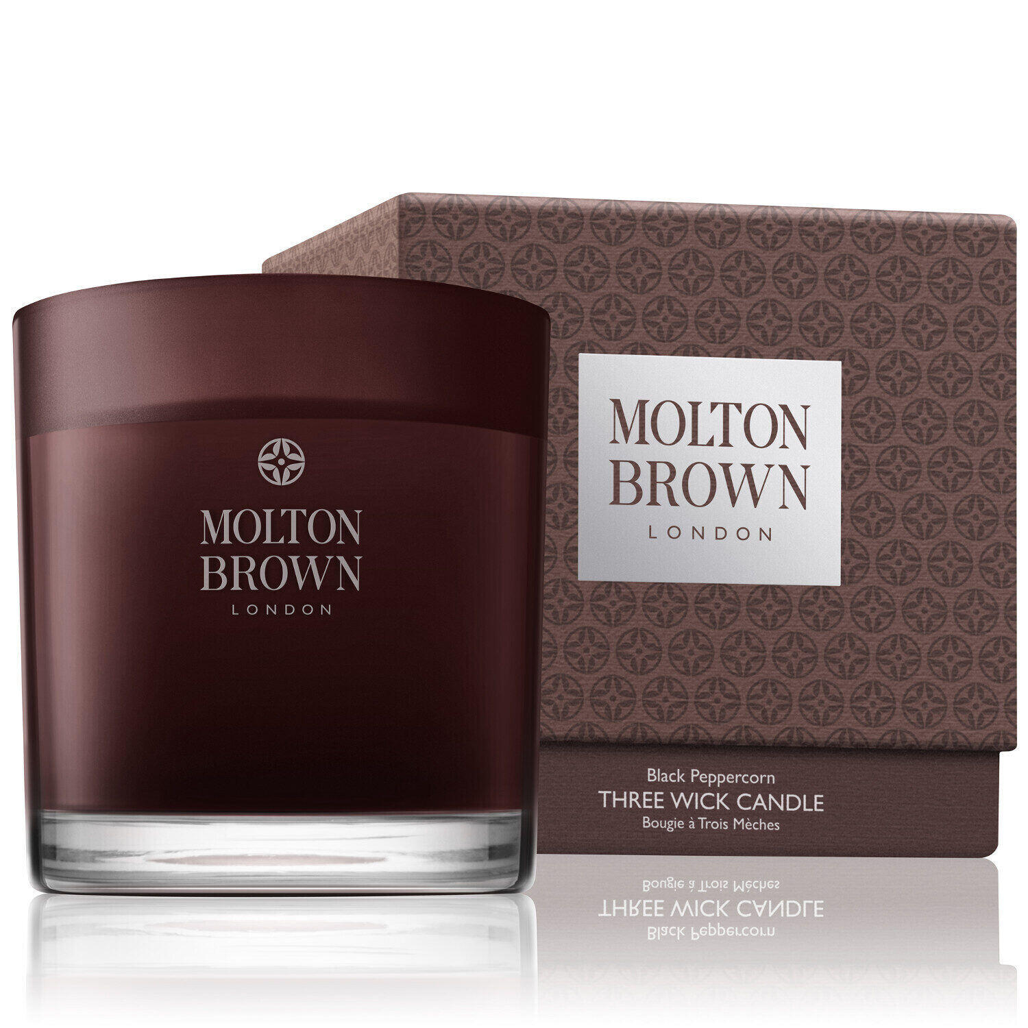 Molton Brown – Black Peppercorn Three Wick Candle - Main Image