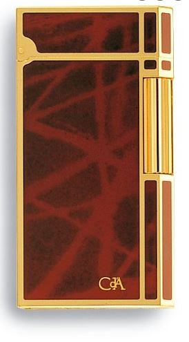 Ecaille Chinese Lacquer Lighter, Carran d'Ache