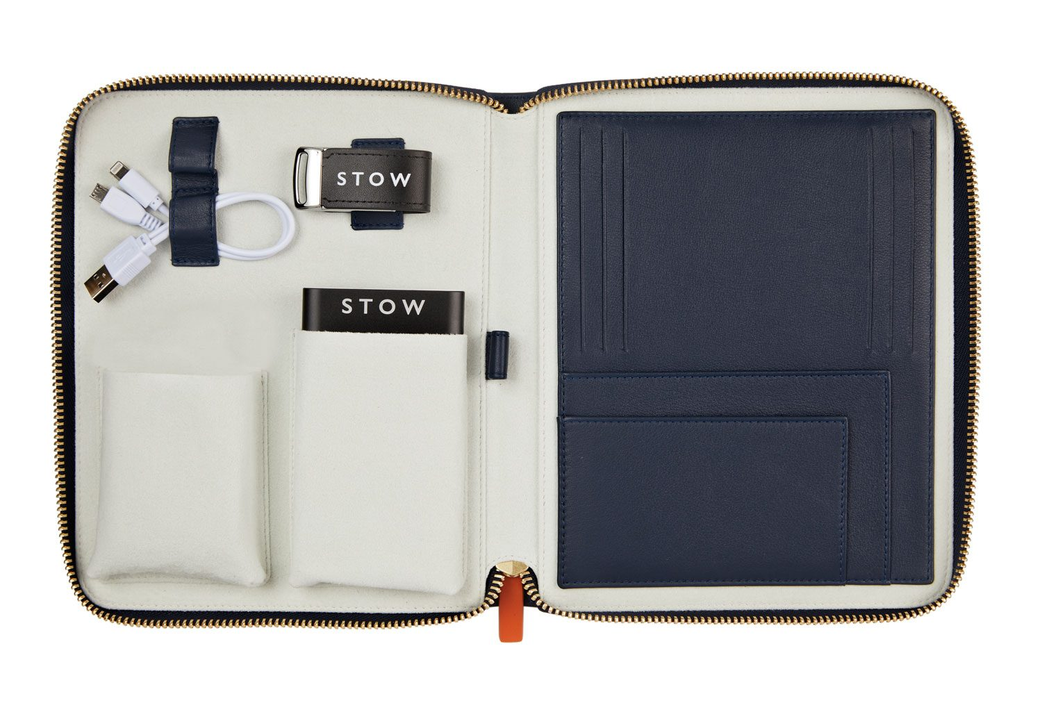 The First Class Leather Tech Case