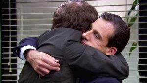 Hugging in the Workplace - The Masculine Hug