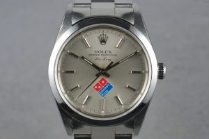 Rolex Air-King Domino's Pizza Logo