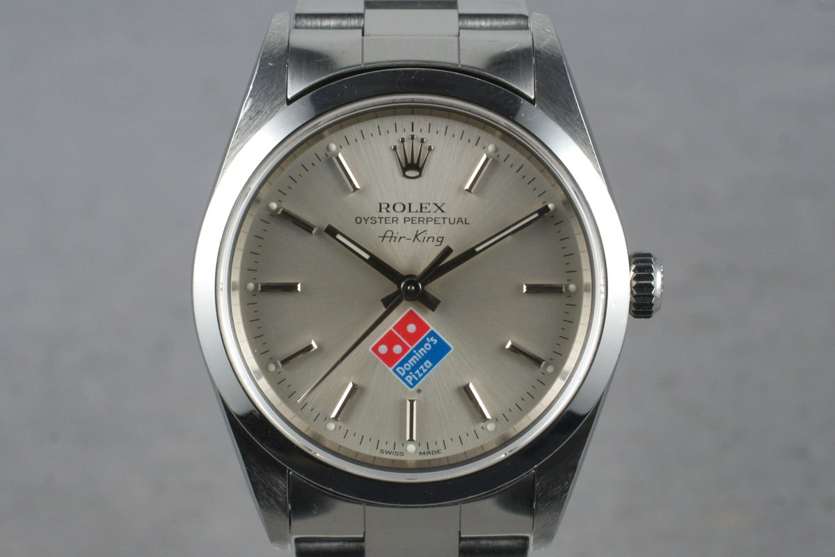 The Domino S Pizza Rolex Watch The Story
