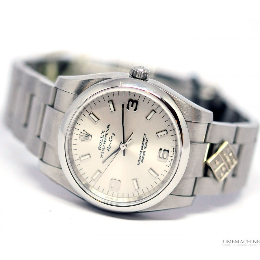 Rolex Air-King Previous Dominos Watch