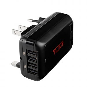 Tumi 4-Port USB Travel Adaptor