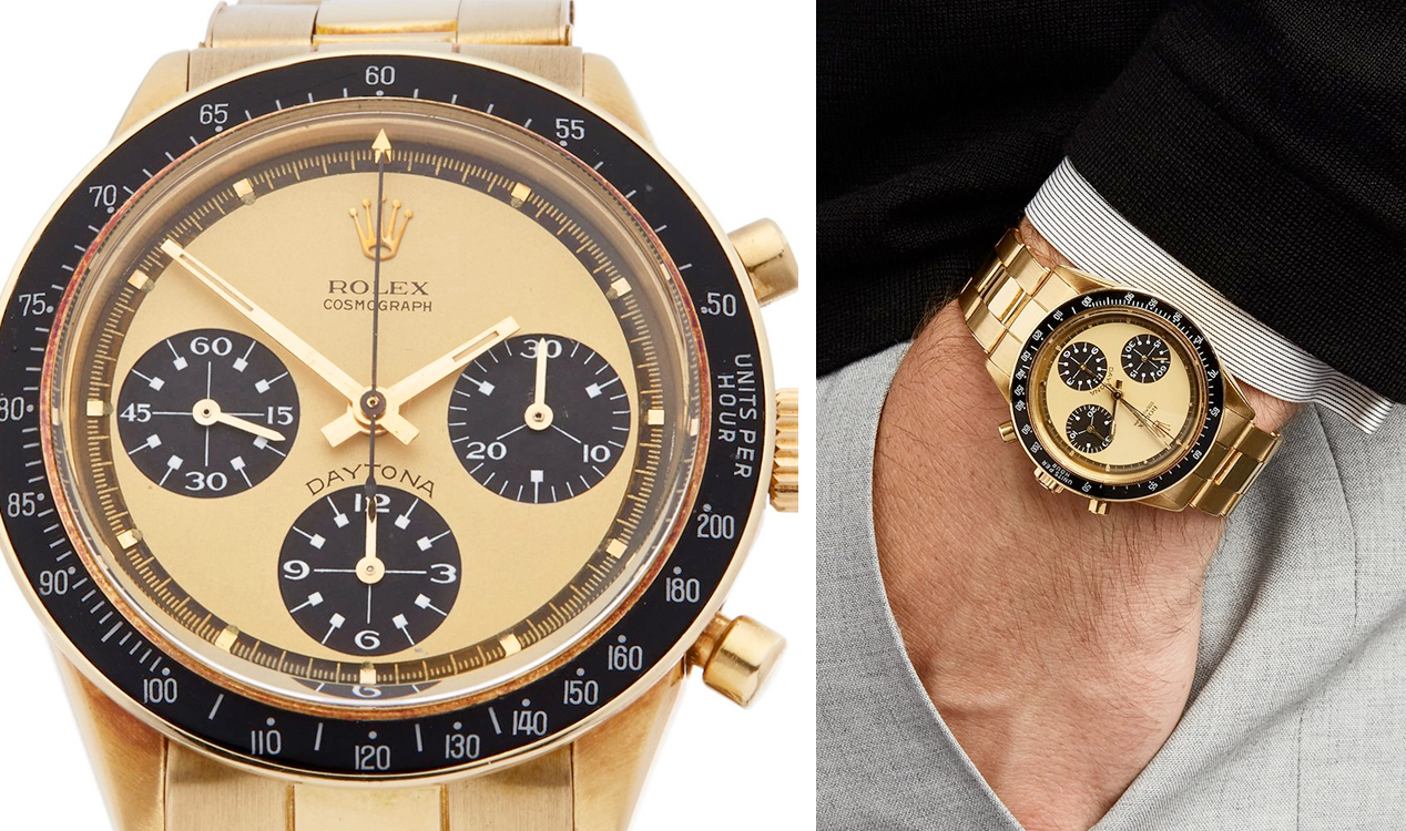 Rolex Daytona 18K Gold Xupes