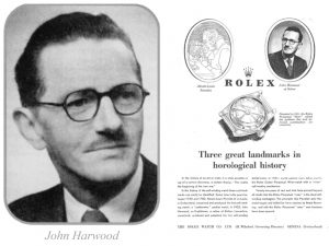 John Hardwood History of the Automatic Watch and Watch Winder
