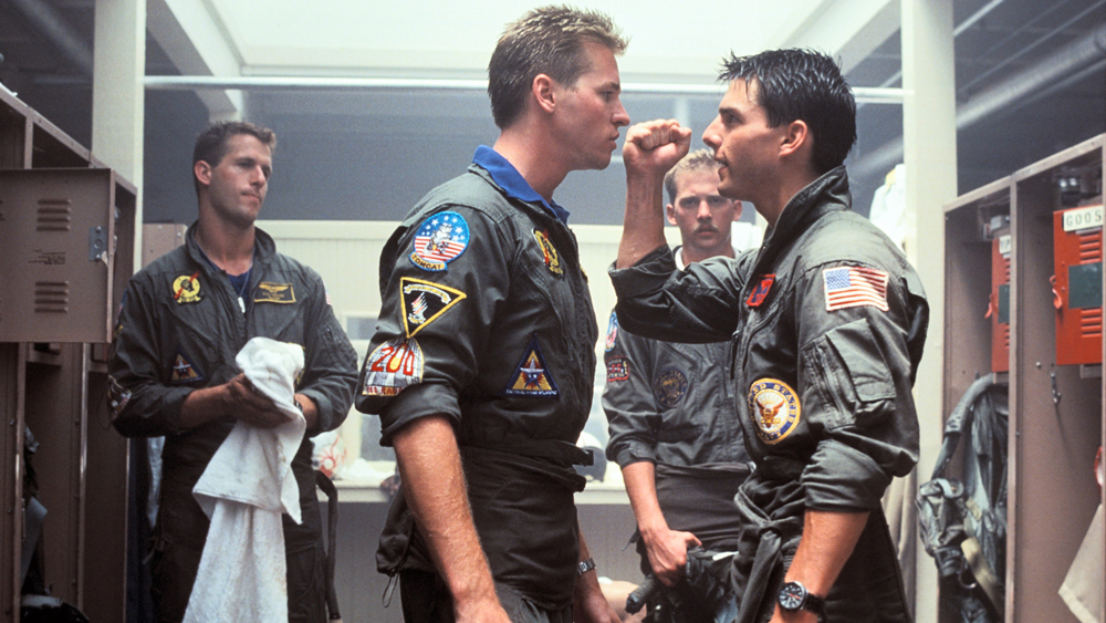 Tom Cruise Wearing IWC in Top Gun