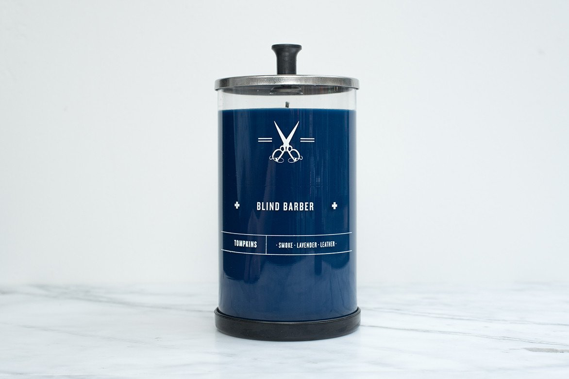 Blind Barber Tompkins Scented Candles
