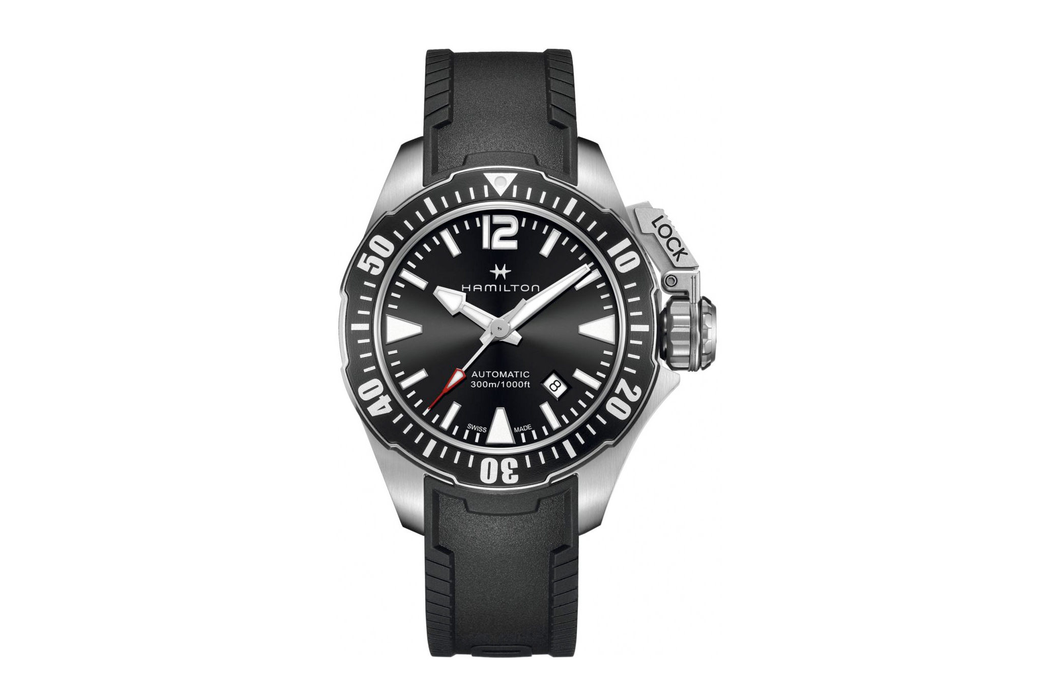 Mens Hamilton Khaki Frogman Watch