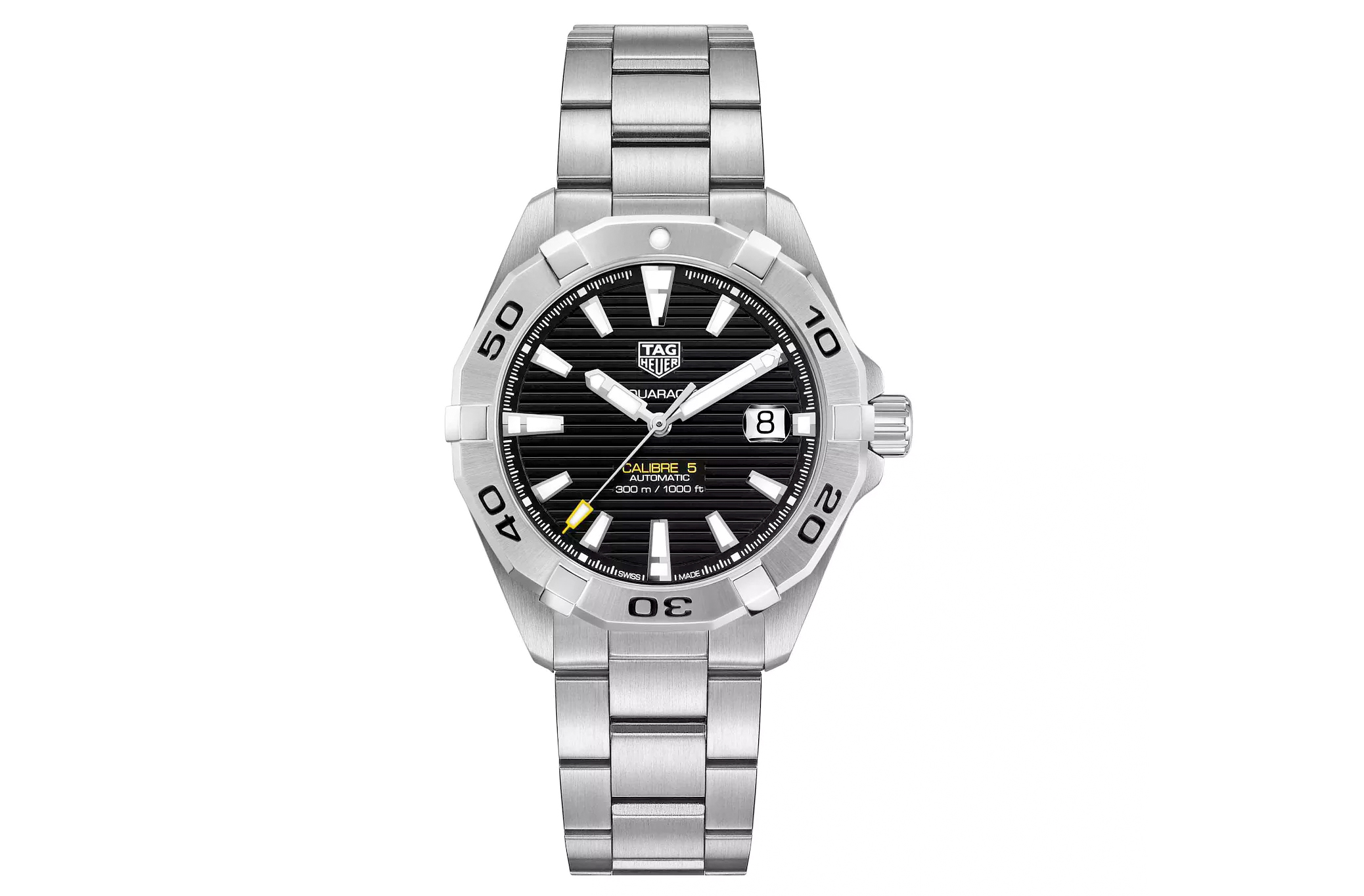 TAG Heuer Aquaracer Men's Stainless Steel Bracelet Watch