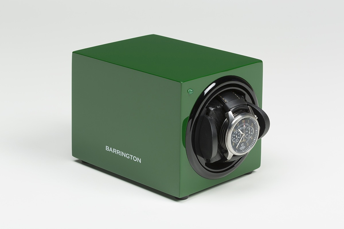 Barrington Single Winder - Racing Green